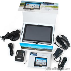 Rand McNally TND TABLET includes