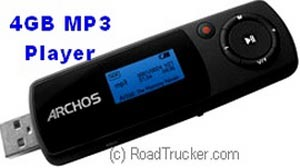 MP3 Player with USB Port & SD Slot