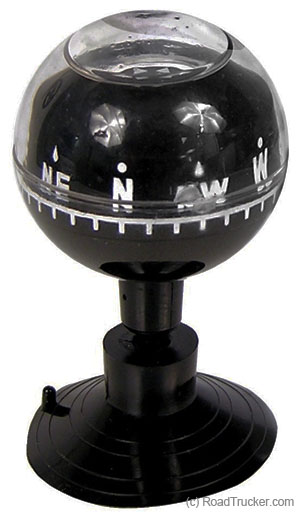 Compass with Suction Cup Mount