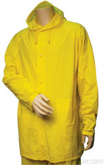 RoadPro - Hooded Yellow Rain Suit