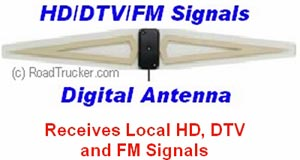 Indoor Digital Basic Antenna for HD/DTV/FM Signals - ANT1000