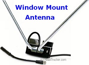Window Mount TV & FM Antenna Kit. Standard Series - TSTVWMA