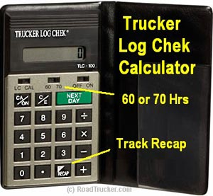 JJ Keller - Trucker Log Chek™ Calculator - 8558