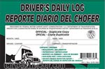 JJ Keller - Bilingual English/Spanish Duplicate Driver's Daily Log Book - 31-L