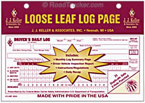 Loose-Leaf Duplicate Driver's Daily Log books - 13-MP