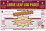 RoadPro Loose-Leaf Carbonless Duplicate Driver's Daily Log books