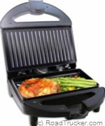 Power Hunt - High Performance 12 Volt Contact Grill - PNP-401A