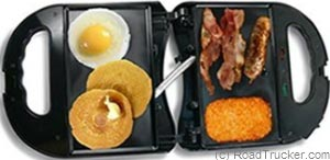Power Hunt - High Performance 12 Volt Breakfast Griddle - PNP-402A