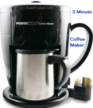 Power Hunt - Power Hunt 12 Volt 3 Minute Personal Coffee Maker - PNP-301A