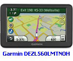 "Garmin Refurbished Dezl560 Series GPS with 5"" Display, Bluetooth & Lifetime Map & Traffic Updates"