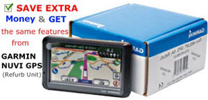 Garmin Refurbished 465LMT Truckers Portable GPS w/ 4.3 inches Display and Lifetime Map and Traffic Updates