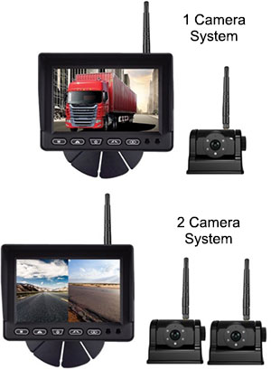 "Boyo 7"" Digital Wireless System VTC700R"