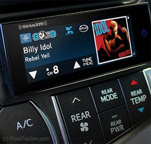 SiriusXM Touch Screen SXVCT1 Side View