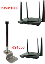 KING Falcon Stationary WiFi Antenna & KING WiFiMax