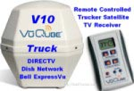 VuQube V10 Satellite TV Receiver for Truckers