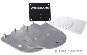 Winegard - Roof Kit Portable to Permanent Roof Mount - RK2000