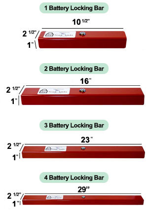 Battery Lock Dimension
