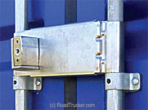 ENFORCER Adjustable Lock for Trailers and Containers