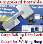 ENFORCER CargoGard Portable Roll-Up Door Lock & Guard for Whiting Hasp - 8075W