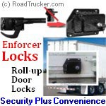 ENFORCER Lock Box Roll-Up Door Lock for Whiting Hasp - 8055W