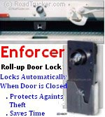 ENFORCER Roll-Up Door Lock Maximum Security - 8050