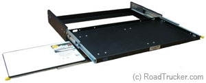 Jumbo Side Slide with Cutting Board Left JSPCB20-L