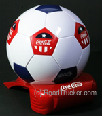 Coca Cola Soccer Ball Cooler 120 VOLT ONLY
