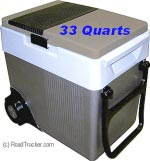 Koolatron 12 Volt Cooler 33 Quart with Wheels