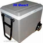 Koolatron 12 Volt Cooler 36 Quart with Wheels
