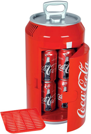 12 Volt Coca Cola Mini Can Thermoelectric 8 Can Cooler