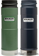 Stanley Classic 20oz. Thermos One-Hand Hot Beverage, Hammertone Green or Hammertone Navy