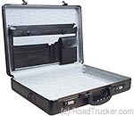 Roadpro's Travel Aluminum Briefcase - Black - SPC-941G