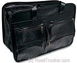 RoadPro Leather-Like Soft-Sided Briefcases - Black - SEB-001BK