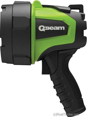 QBeam LED AC/DC Rechargeable Work Spotlight