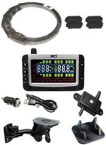 Internal Anti-Theft TPMS Sensor Kits for Trucks, RVs, Tow Vehicles