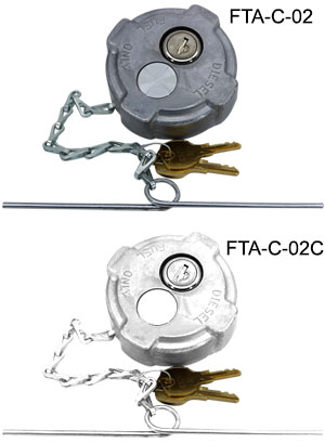 Fuel Tank Accessories - Reefer, International MD, & Ford 650/750 Locking Fuel Cap - FTA-C-02