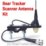 "18"" BearTracker Mirror Mount Scanner Antenna TSBT-1"