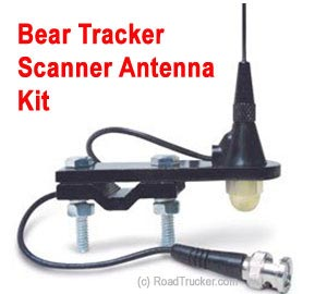 "18"" BearTracker Mirror Mount Scanner Antenna"