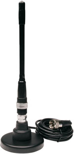 "8"" Tunable 50 Watt Magnetic Mount CB Antenna A-108PM"
