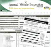 RoadPro's 3-Part Annual Vehicle Inspection Report