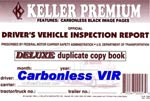 JJKeller Carbonless Duplicate Daily Driver's Vehicle Inspection Report Logbooks
