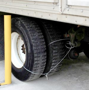 Bob Pohl Strategy to Deter Tire Theft
