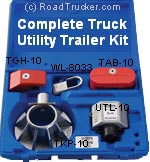 War-Lok Complete Truck-Utility-Trailer Security Kit - TSK-533-UTL