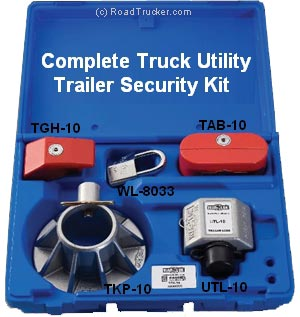 War-Lok - Complete Truck-Utility-Trailer Security Kit - TSK-533-UTL