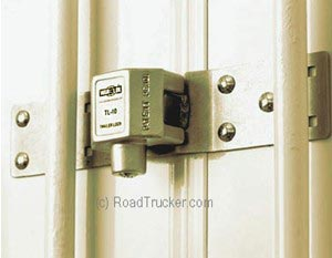 War-Lok Hasp & Cast Steel Barrier Box Lock - TH/TL-10
