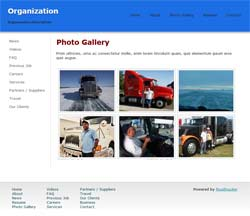 Video Page - 15 pages True Blue Top Trucker