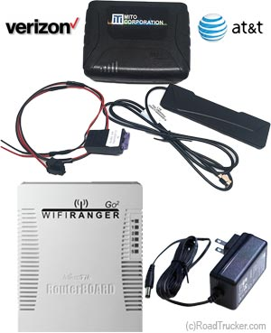 WiFi Hotspot for 4G Network & Go2 Indoor Router